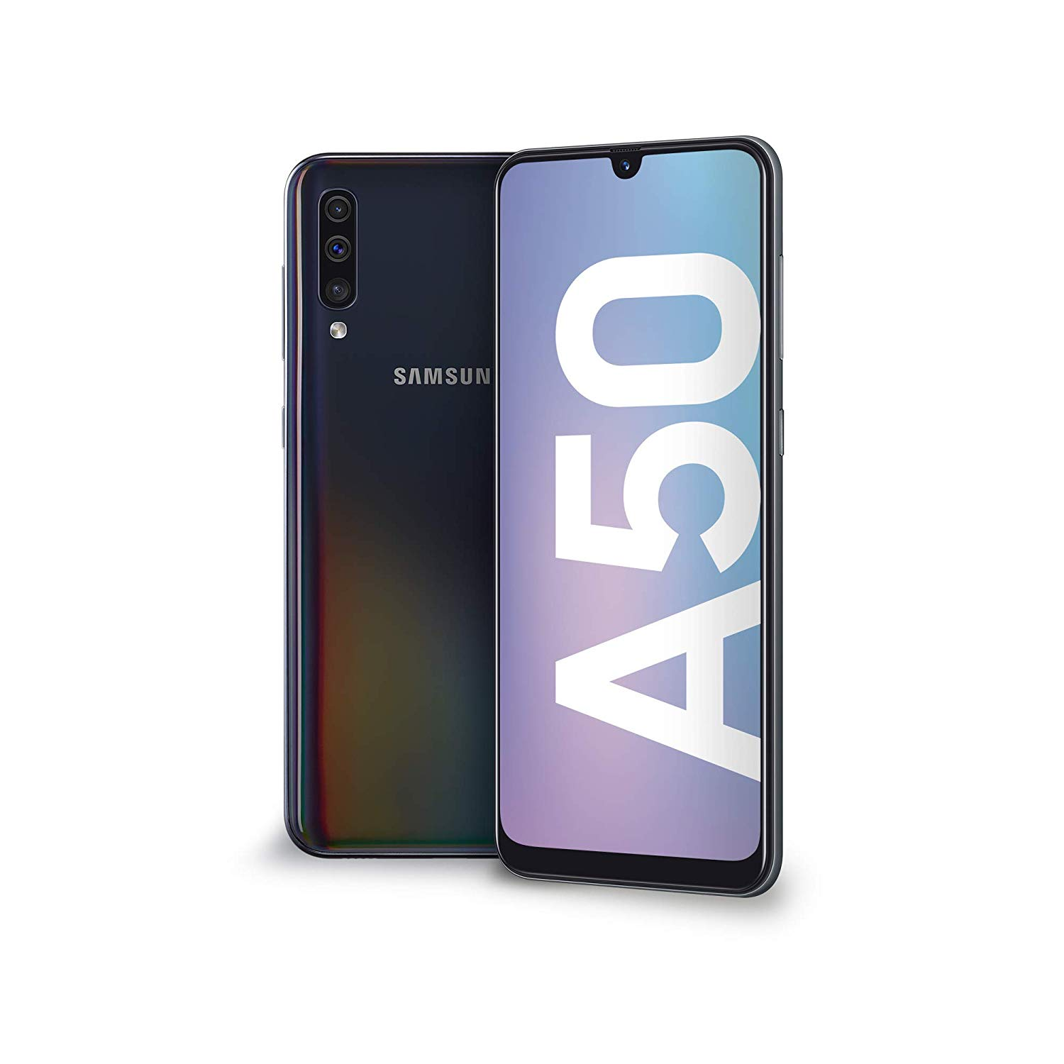 Samsung Galaxy A50 Display 6.4″, 128 GB Espandibili, RAM 4 GB, Batteria 4000 mAh, 4G, Dual SIM Smartphone, Android 9 Pie, (2019) [Versione Italiana]
